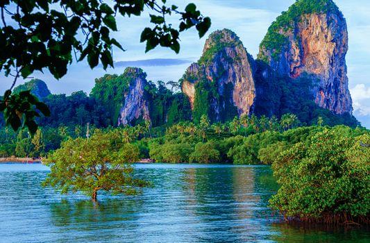 Photo free Krabi, Thailand, sea