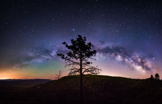 Photo free Mount Laguna, night, hills