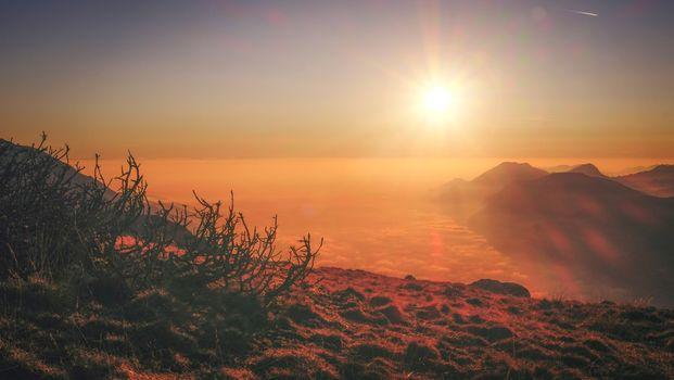 Photo free sea, sunrise, sun