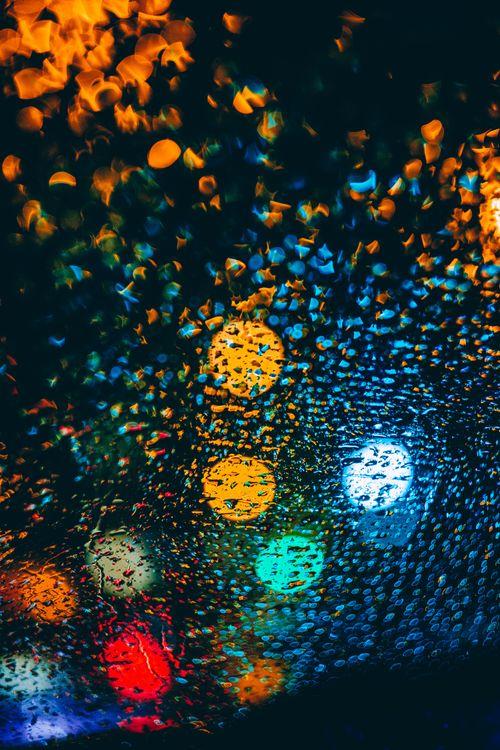Фото бесплатно капли, блики, разноцветные, drops, glare, colorful, макро