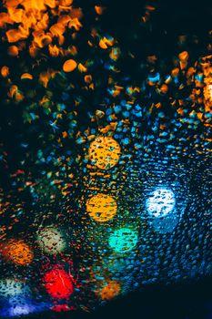 капли, блики, разноцветные, drops, glare