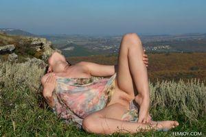 Фото бесплатно поза, обнаженная девушка, Ева U