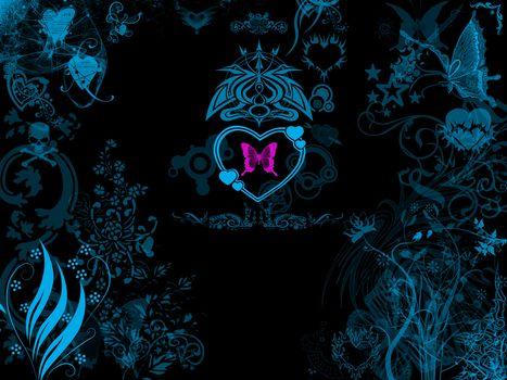 Бесплатные фото сердечки,сердечко,Валентинка,Валентинки,абстракция,фон,цвет,форма,текстура,фрактал,wallpapers