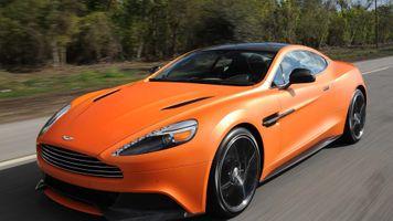 Photo free Aston Martin, auto, orange