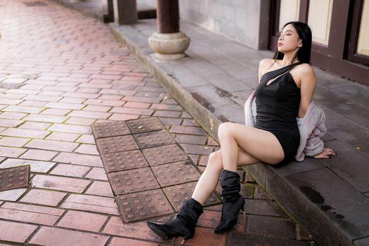 Фото бесплатно девушки, ноги, азиатка