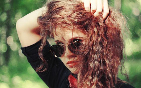 Photo free model, portrait, glasses