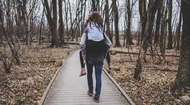 Фото бесплатно пара, прогулка, любовь