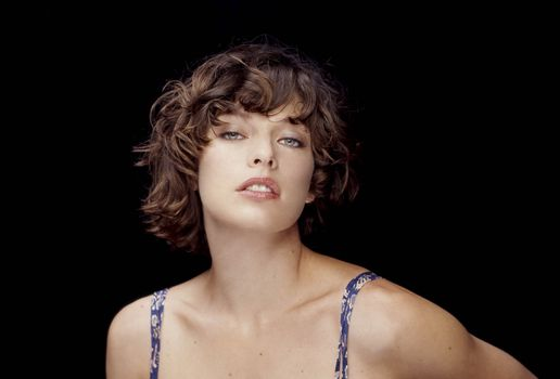 Заставки Milla Jovovich, знаменитости, девушки