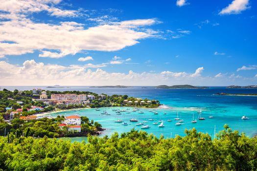 Заставки Сент-Томас, море, яхты