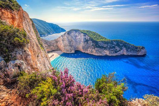 Фото бесплатно Греция, море, бухта, пляж