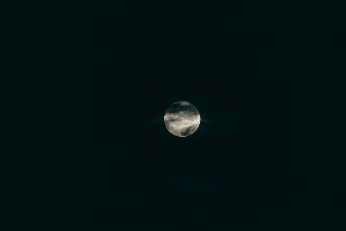 Полная луна · бесплатное фото