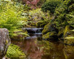 Заставки Орегон, водопад, пейзаж