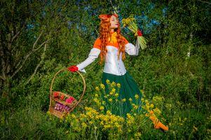 Фото бесплатно женщина, Виктория Бородинова, рыжая девочка