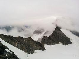 Фото бесплатно белый, горный хребет, снег