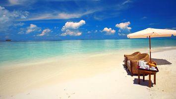 Фото бесплатно отпуск, остров, Мальдивы