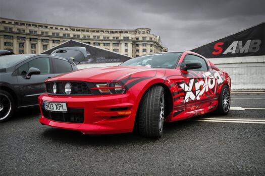 Photo free design, Mustang, car exterior