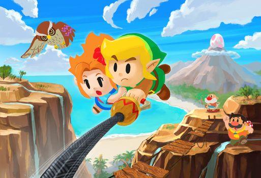 Фото бесплатно легенда о зельде, игры, The Legend Of Zelda Links Awakening