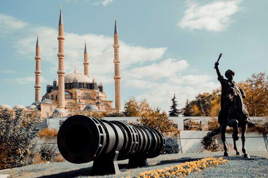 Фото бесплатно города, мечеть, лошади