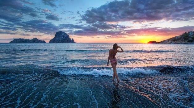 Photo free Sunset in Ibiza, Spain, sunset