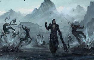 Бесплатные фото воин,битва,фэнтези,цифровое искусство,warrior,battle,fantasy art