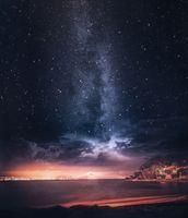 Бесплатные фото milkywaypics,пляж,астрономический,франция,небо,природа,атмосфера