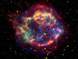 Фото бесплатно взрыв сверхновой, туманность, вселенная