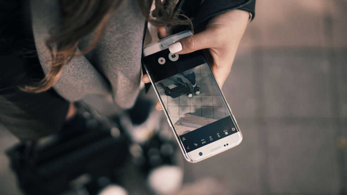Фото бесплатно рука, instagram, девушка - на рабочий стол