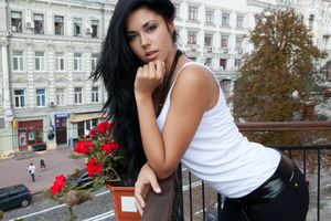 Бесплатные фото Macy B,Sex-art,женщины,брюнетка,длинные волосы,черные волосы