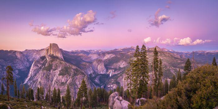 Photo free park, mountains crag, USA