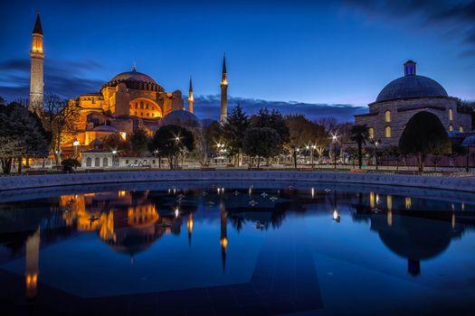 Фото бесплатно Собор Святой Софии, Ayasofya, Стамбул