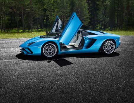 Заставки Lamborghini Aventador S, автомобили 2018 года, Lamborghini