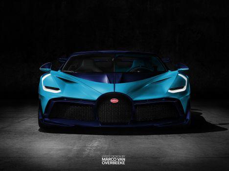Photo free Bugatti Divo, Bugatti, 2018 cars