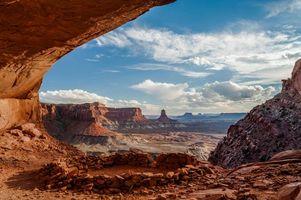 Фото бесплатно Canyon Lands National Park, горы, скалы, арка, небо, пейзаж