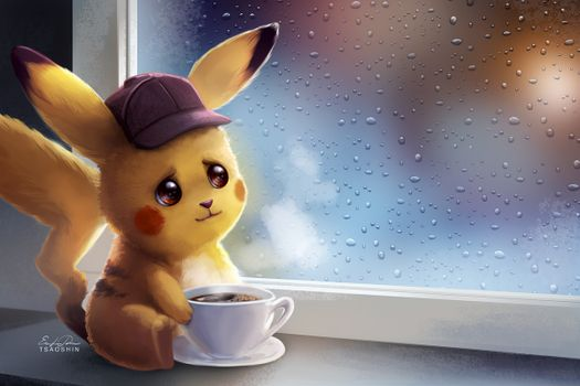 Photo free pikachu, deviantart, artwork