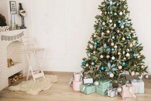 Бесплатные фото Новый год,праздник,елка,декор,подарки,