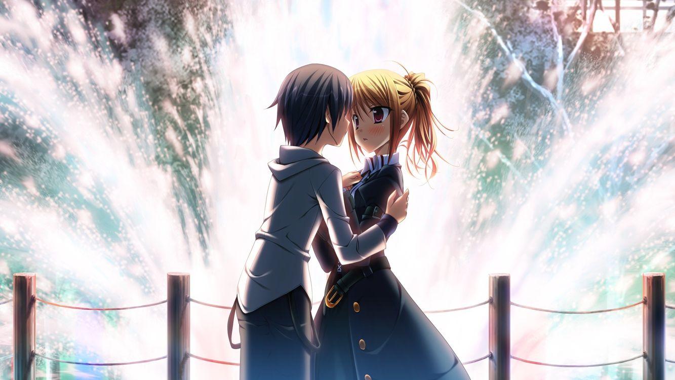 Photo anime anime girl anime boy - free pictures on Fonwall