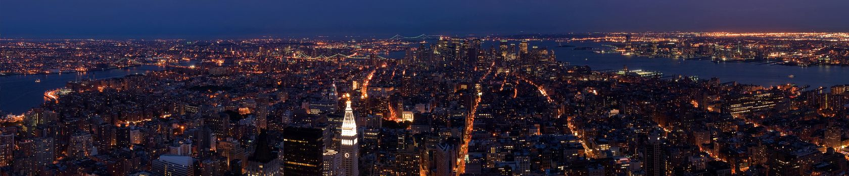 Photo free city, cityscape, night