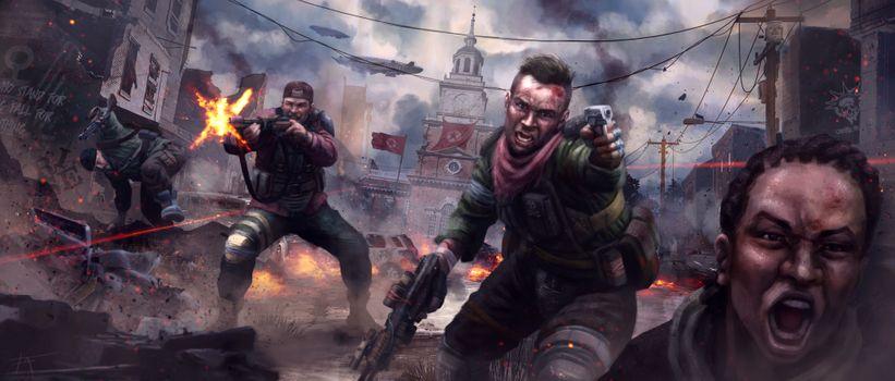 Бесплатные фото Homefront: революция,видеоигры,Homefront