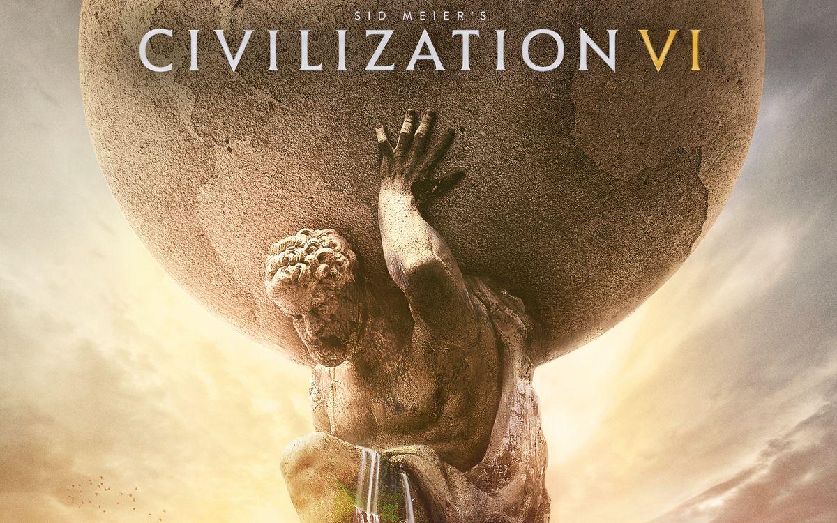 Фото бесплатно Цивилизация 6, статуя, водопад - на рабочий стол