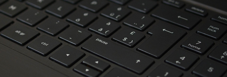Фото бесплатно клавиатура, чёрный, ноутбук - на рабочий стол