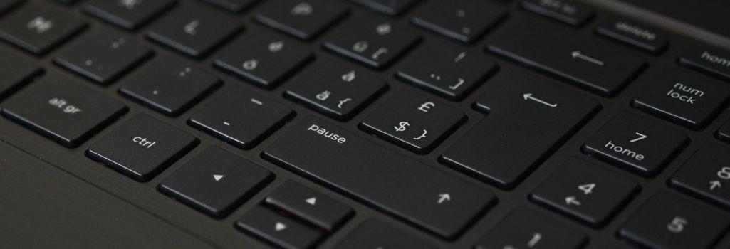Фото бесплатно клавиатура, чёрный, ноутбук