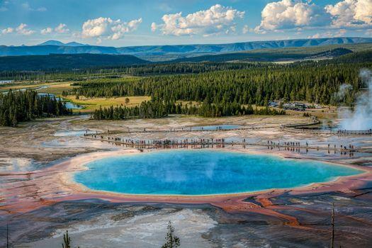Бесплатные фото Национальный парк Йеллоустоун,Вайоминг,Yellowstone National Park,Steamy Geysers,Wyoming,Паровые гейзеры