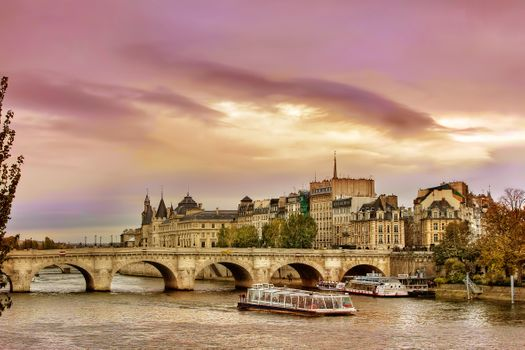 Заставки мост мост, Париж, Франция