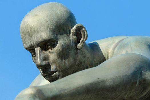 Фото бесплатно статуя, скульптура, чистое небо