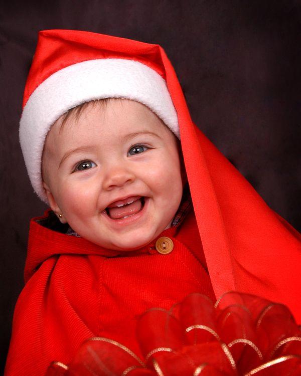 Фото бесплатно xmascomp02, child, santa - на рабочий стол
