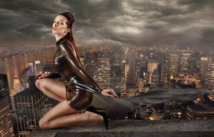 Фото бесплатно город, девушка, модель