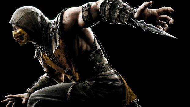 Фото бесплатно Mortal Kombat, скорпион, игры для Xbox