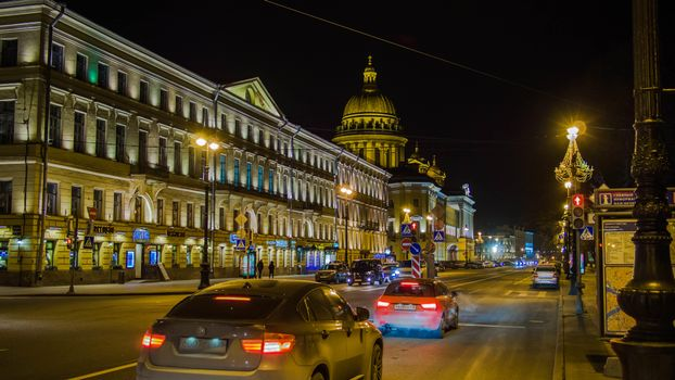 Фото бесплатно Admiralteysky prospect, Saint-Petersburg