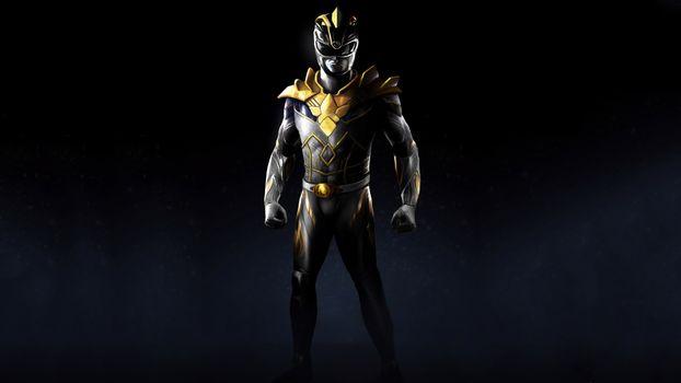 Заставки Power Rangers, супергерои, artstation