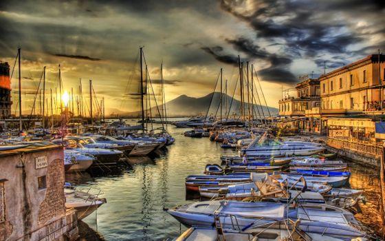 Фото бесплатно город, лодки, лодочная